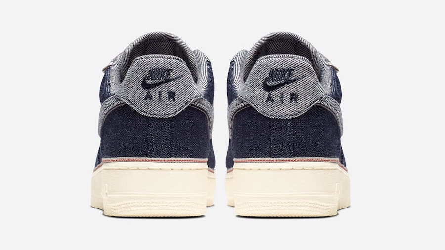 3x1 Nike Air Force 1 Raw Indigo 905345-402 Release Info