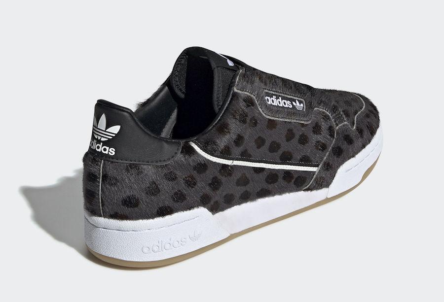 adidas continental 80 dames leopard