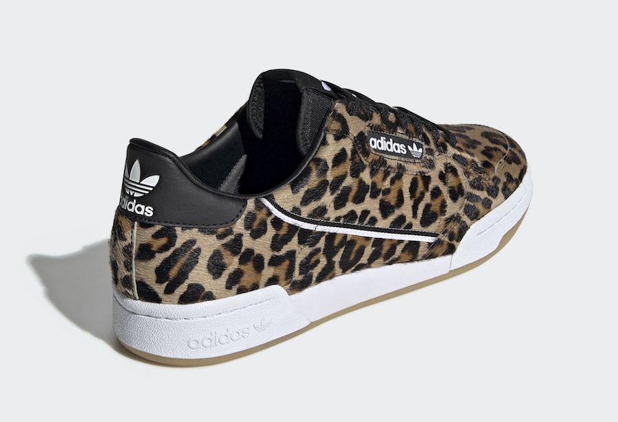 adidas Continental 80 Leopard F33994 Release Date
