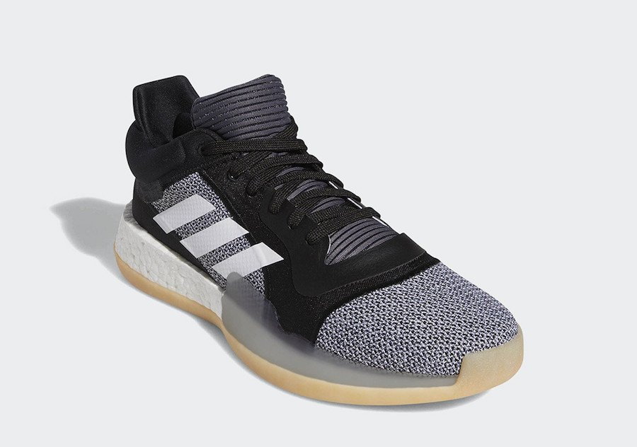 adidas Marquee Boost Low Black Gum D96932 Release Date