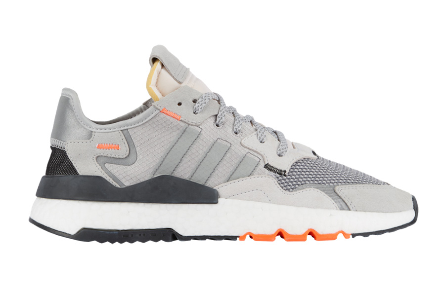 adidas Nite Jogger Grey White Orange DB3361 Release Date