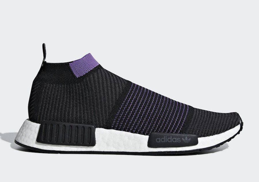 adidas NMD City Sock Purple Pack G28196 Release Date