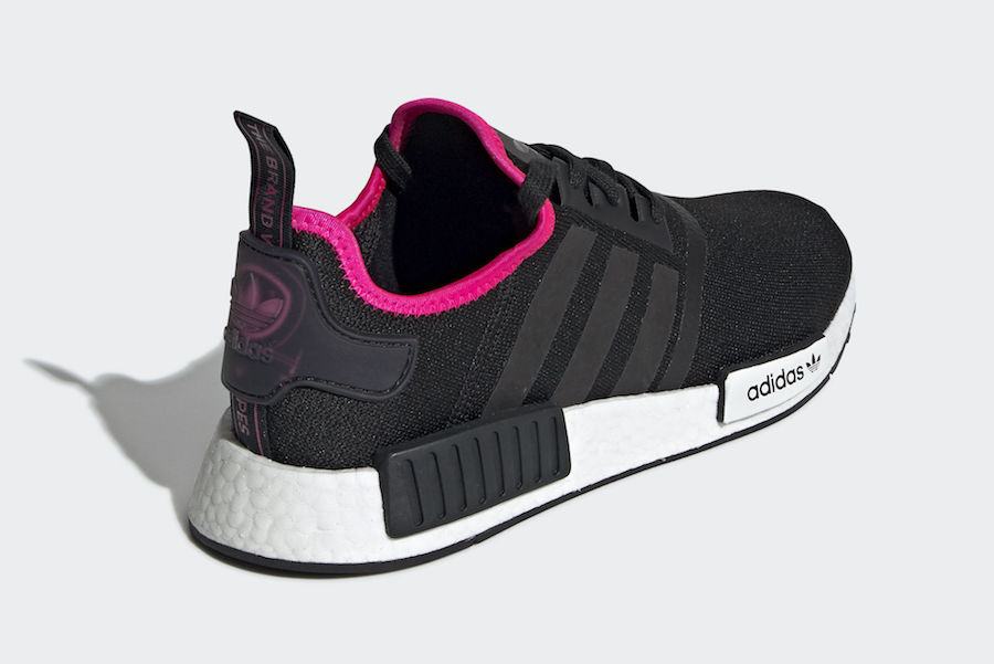 adidas NMD R1 Core Black Shock Pink DB3586 Release Date
