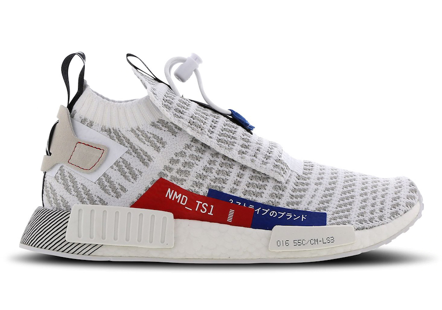 adidas NMD TS1 Japan White Red Blue Release Date