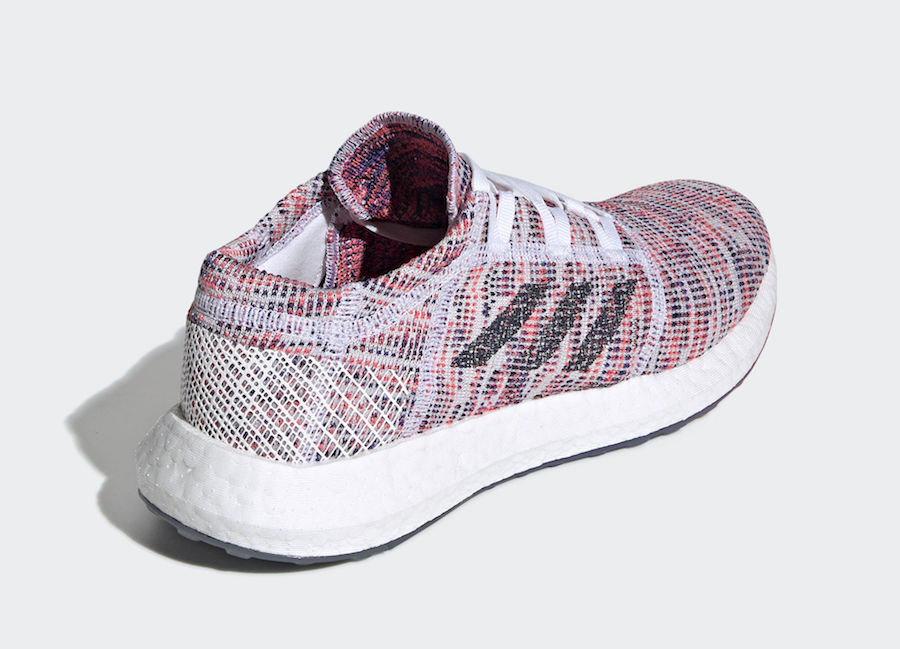 adidas Pureboost Go Shock Red B75829 Release Date