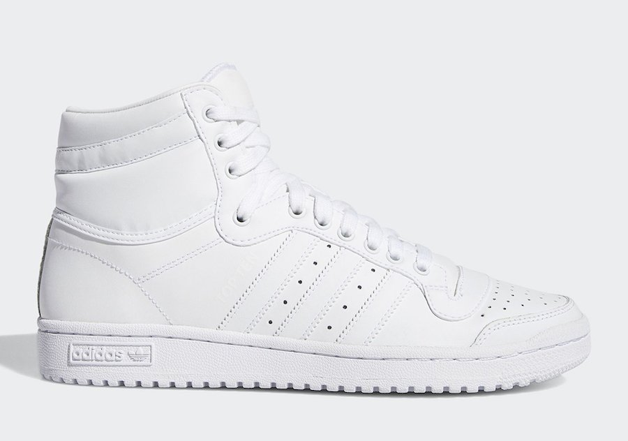adidas Top Ten Hi White S84596 Release Date