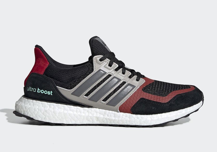 adidas Ultra Boost SL Black Grey Red EF0724 Release Date