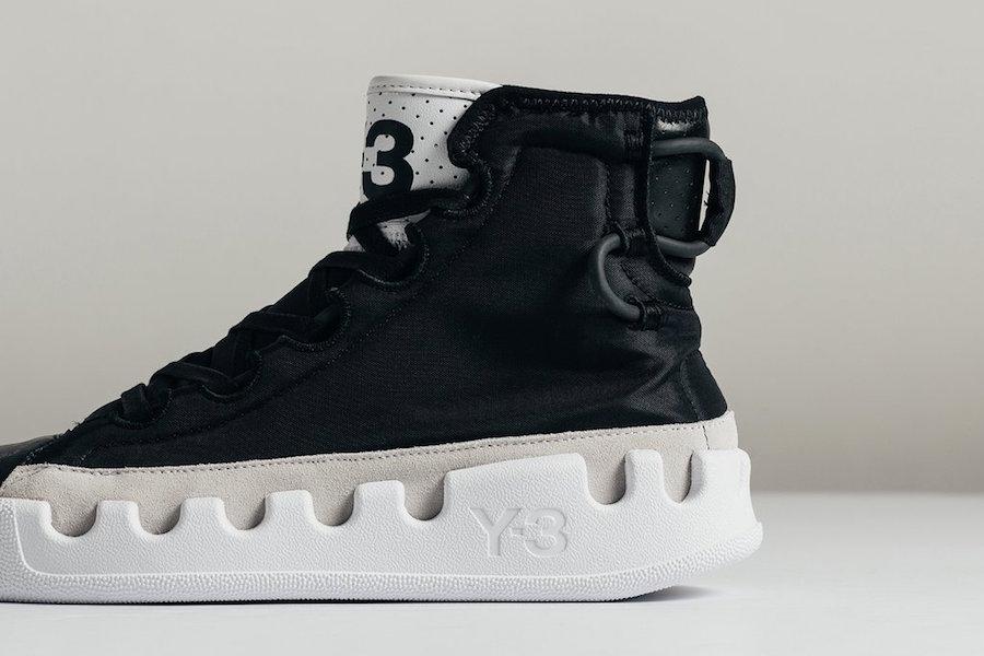 adidas Y-3 Kasabaru Black White F99800 Release Date