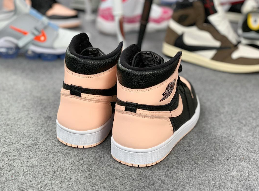 Air Jordan 1 High OG Crimson Tint 555088-081 Release Date Price Info