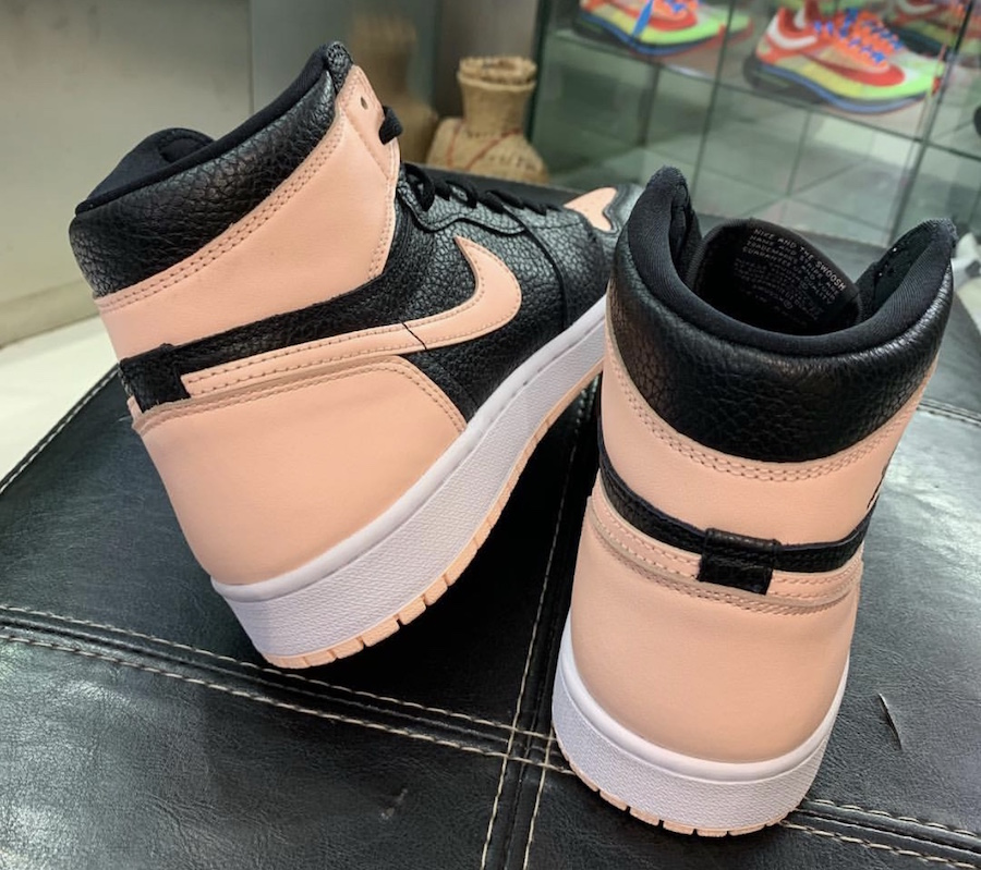 Air Jordan 1 High OG Crimson Tint Black 555088-081 Release Date Price