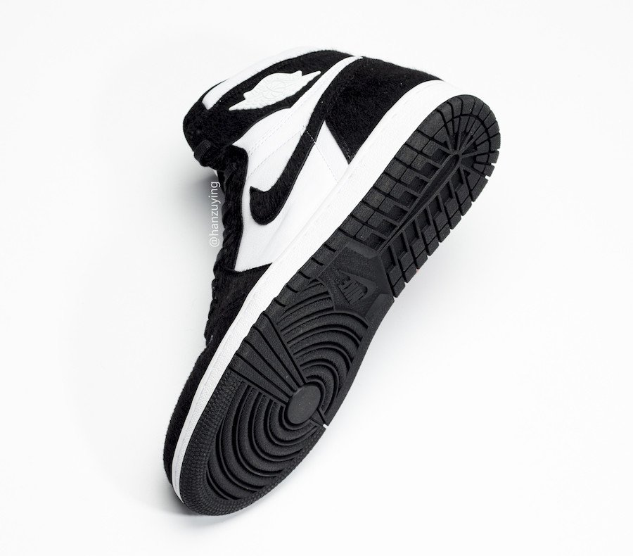 Air Jordan 1 High OG Panda Black White CD0461-007 Release Date