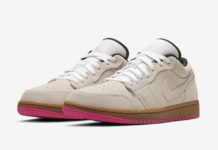 Air Jordan 1 Low Beige Pink 553558-119 Release Date