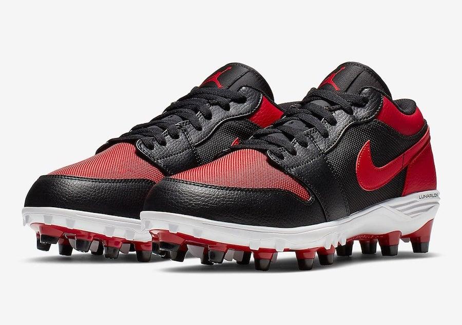 Air Jordan 1 Low Football Cleats Banned