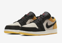 Air Jordan 1 Low University Gold 553558-127 Release Date