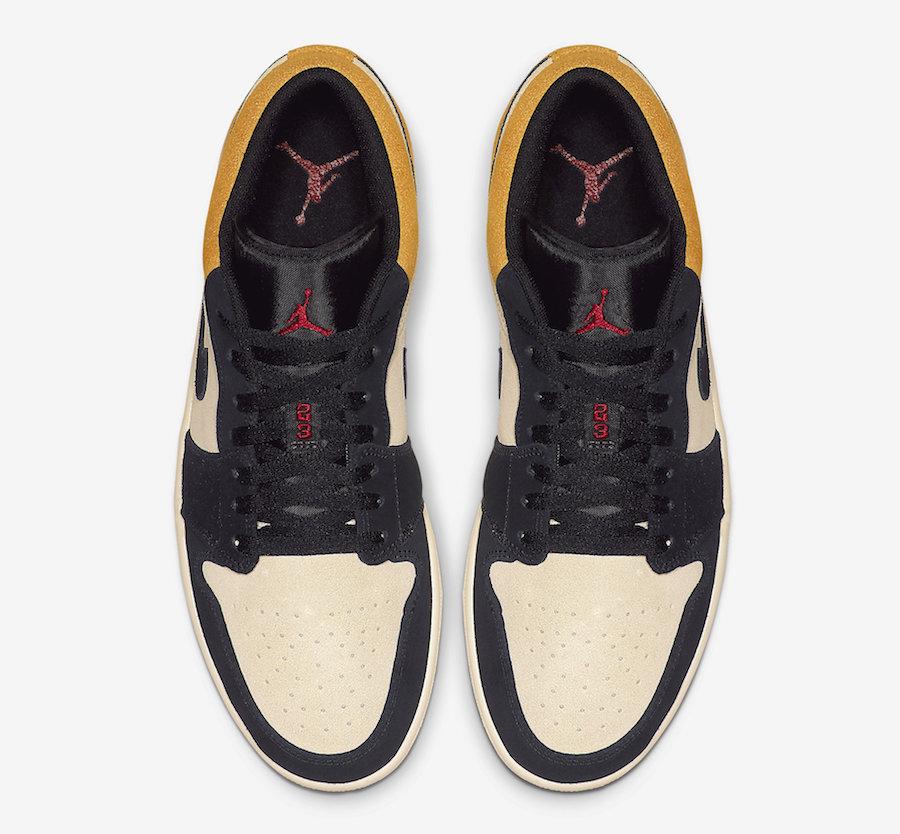 Air Jordan 1 Low University Gold 553558-127 Release Date