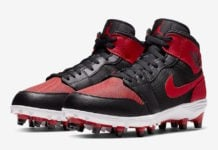 Air Jordan 1 Mid Football Cleats Banned