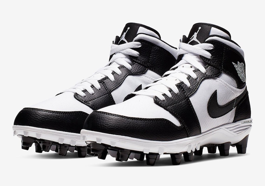 Air Jordan 1 Football Cleats OG Colorways + Pricing ...