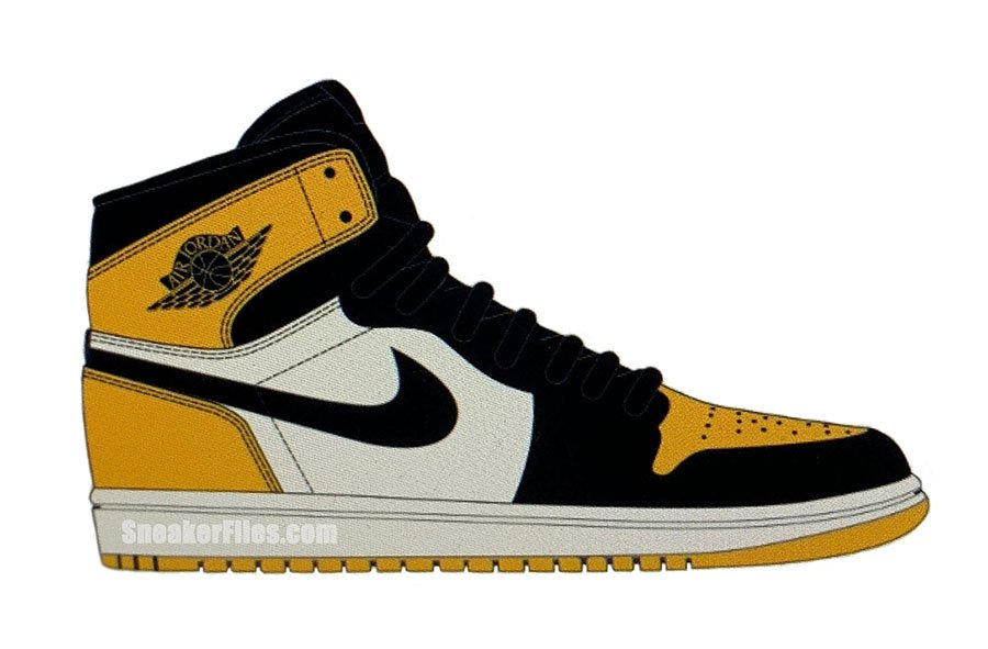 10e1c1d5c6fa Air Jordan 1 Mid Yellow Toe Black White 852542-071 Release Date