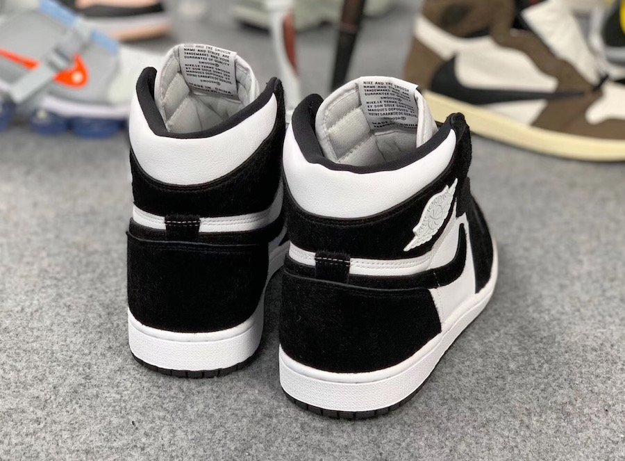 Air Jordan 1 Panda Black White CD0461-007 Release Date Info