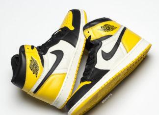 Air Jordan 1 Yellow Toe Black White AR1020-700 Release Date