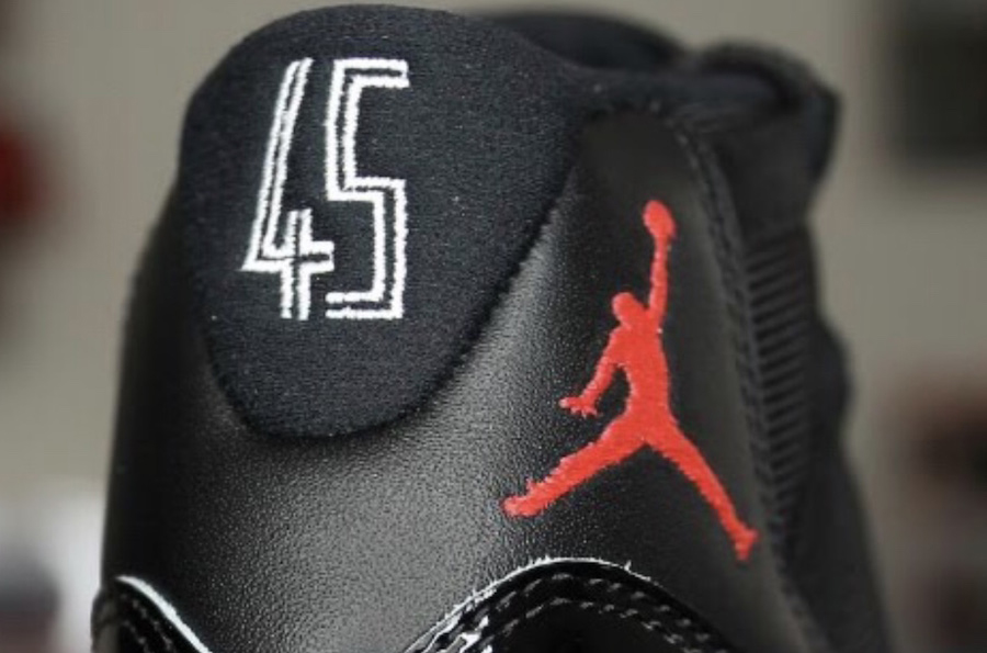 Air Jordan 11 Bred 2019 Retro 45 Heels