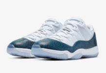 Air Jordan 11 Low Navy Blue Snakeskin CD6846-102 Release Date Info Price