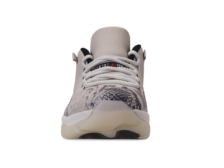 Air Jordan 11 Low Snakeskin Light Bone CD6846-002 Release Info