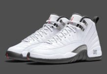 Air Jordan 12 White Grey Red 130690-160 Release Date