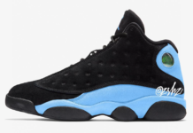 Air Jordan 13 Black Light Blue 414571-030 Release Date