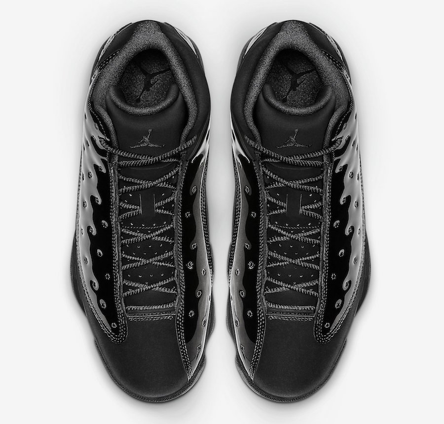 Air Jordan 13 Cap and Gown Black 414571-012 Release Info