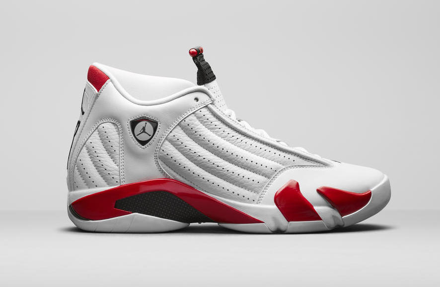 Air Jordan 14 White Red 487471-100 Release Date