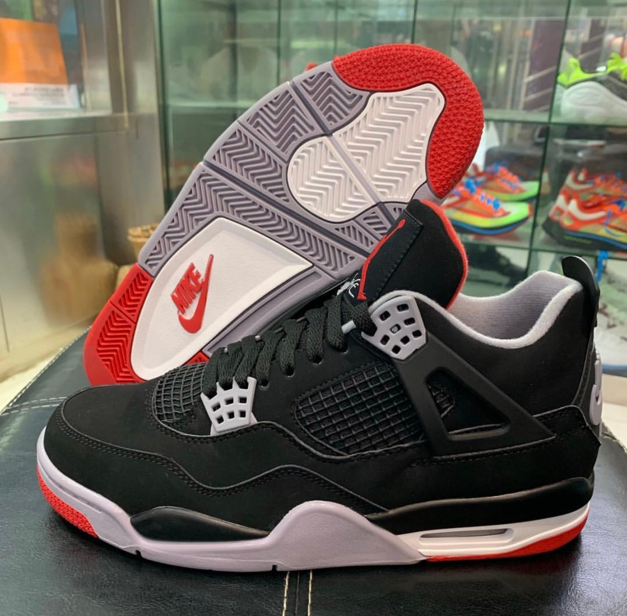 9546081fd2f5 Air Jordan 4 Bred Black Cement 2019 308497-060 Release Date