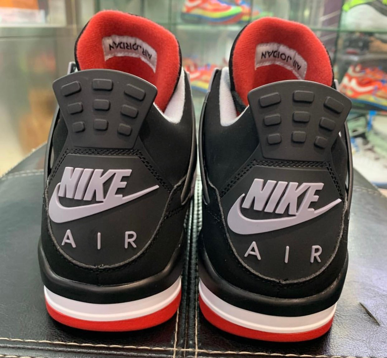 san francisco f7928 2318b Air Jordan 4 Bred Black Cement 2019 308497-060 Release Date