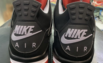 Air Jordan 4 Bred Black Cement 2019 308497-060 Release Date
