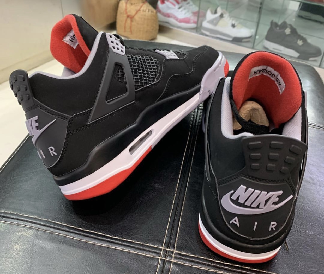 2b218070f1 Nike Air Jordan 4 Bred Black Red 2019 Release Date | SneakerFiles