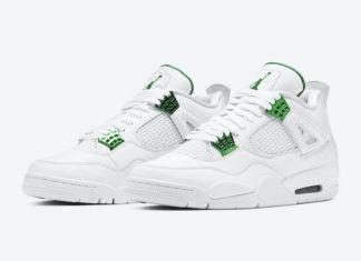 Air Jordan 4 Green Metallic CT8527-113 Release Date