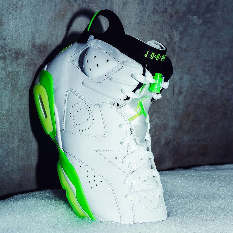 Air Jordan 6 Oregon Ducks Womens PE