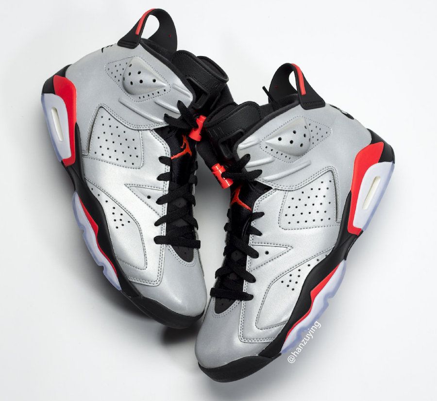 Air Jordan 6 Reflect Silver Infrared CI4072-001 Release Date Price