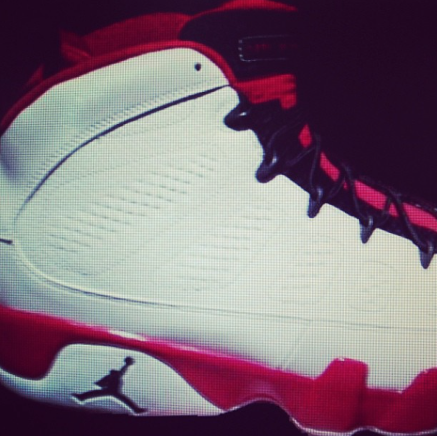 Air Jordan 9 White Red 302370-160 Release Date