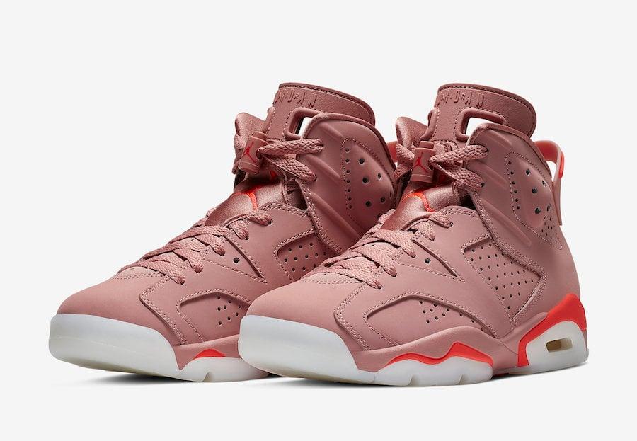 Aleali May Air Jordan 6 Millennial Pink March 2019 Release Date