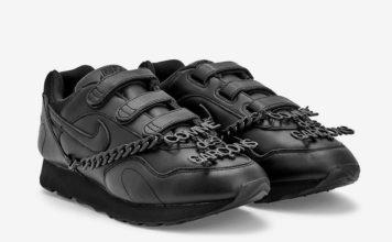 Comme des Garcons Nike Outburst Velcro Black Release Date Info