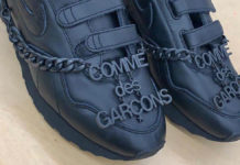 Comme des Garcons Nike Velcro Release Date