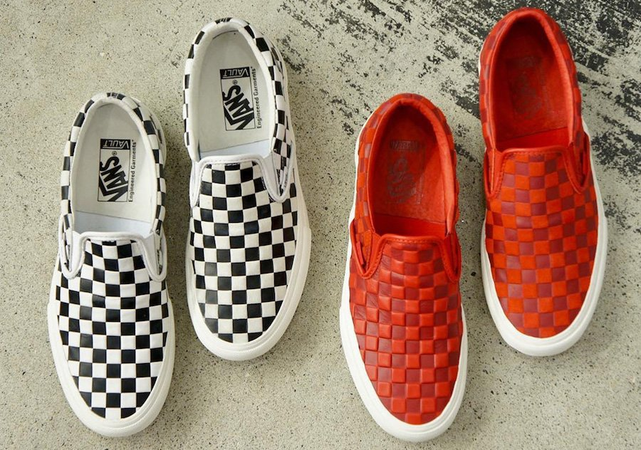 Engineered Garments Vans Slip-On Release Date