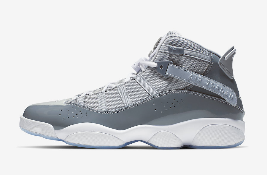 Jordan 6 Rings Cool Grey 322992-015 Release Date