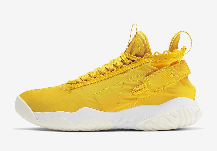 Jordan Proto React Yellow White BV1654-701 Release Date
