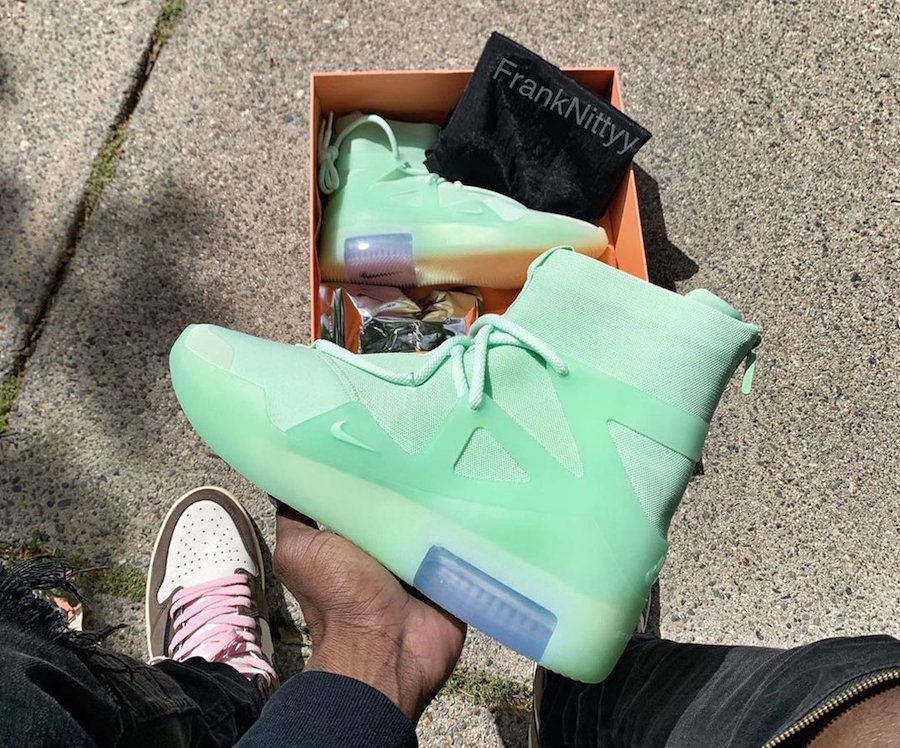Nike Air Fear of God 1 Frosted Spruce Release Info