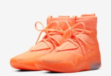 Nike Air Fear of God 1 Orange Pulse AR4237-800 Release Date