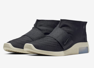 Nike Air Fear of God Moccasin Black AT8086-002 Release Date