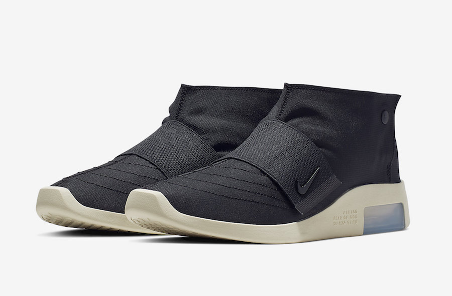 best sneakers 40628 67190 Nike Air Fear of God Moccasin Black AT8086-002 Release Date
