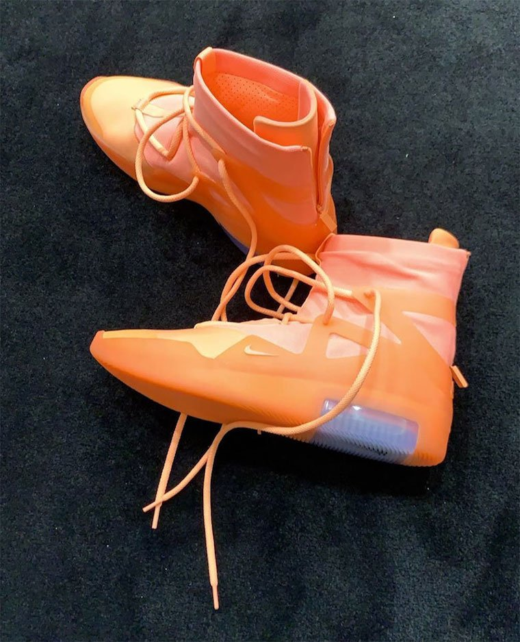 Nike Air Fear of God Orange Pulse AR4237-800 Release Info